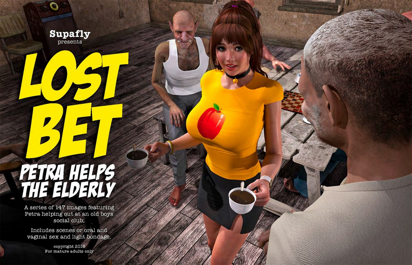 Lost Bet – Petra Helps The Elderly image 1