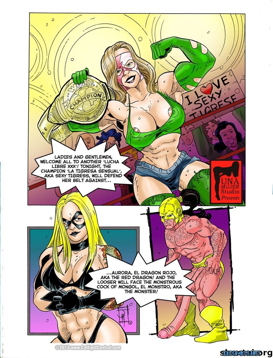 Porn Comics - Lucha Libre XXX Part-8 & 9 porn comics 8 muses