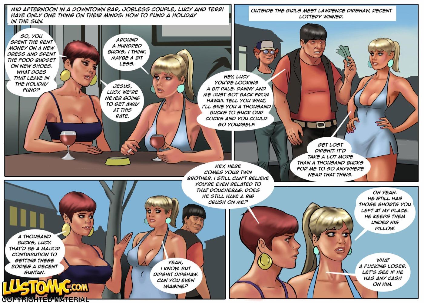 Porn Comics - Lustomic- Twins porn comics 8 muses