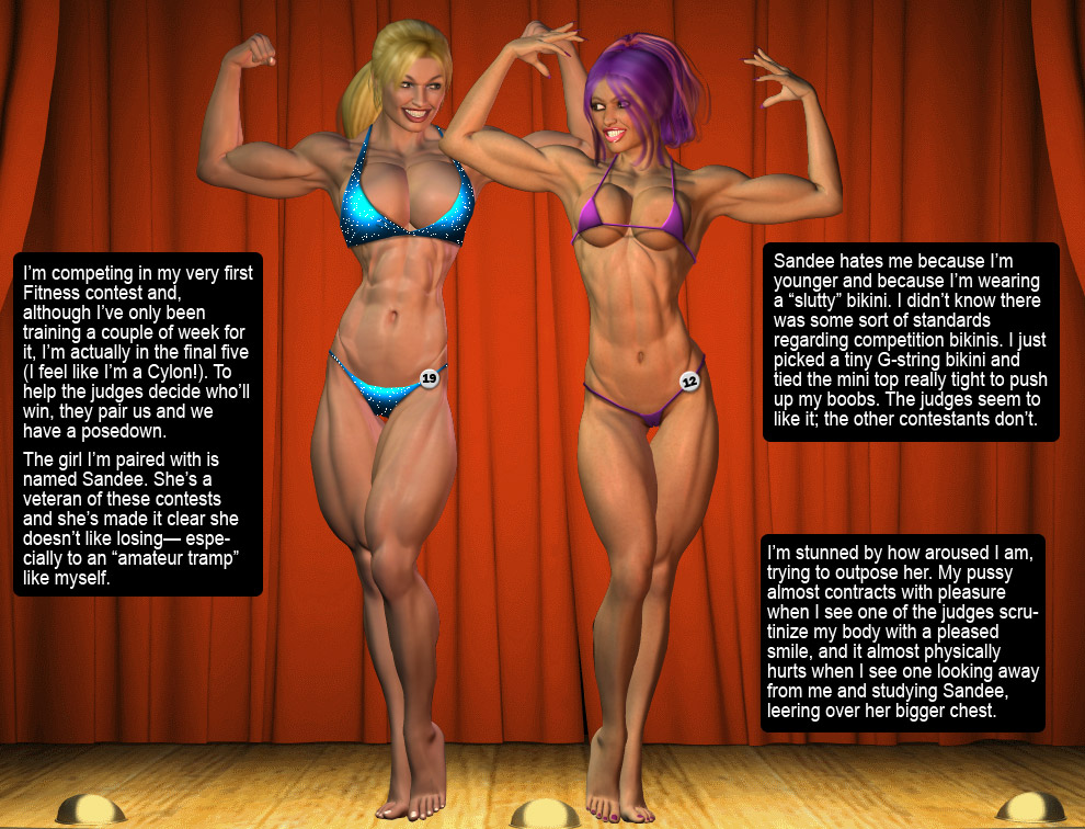 Porn Comics - Mack at a Fitness Bikini Contest- Entropy porn comics 8 muses