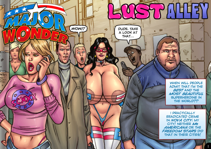 Major Wonder- Lust Alley – Superheroine image 1