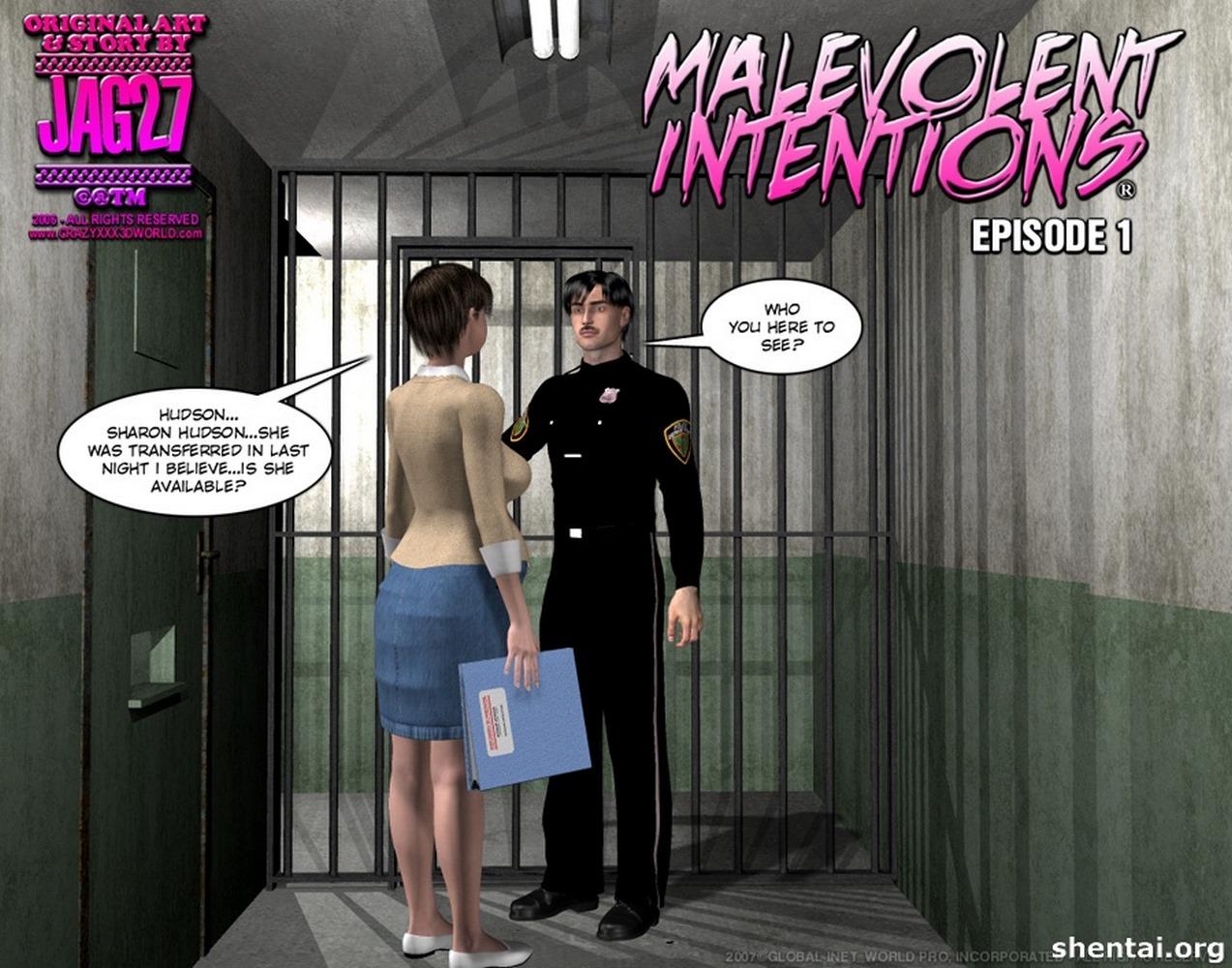 Porn Comics - Malevolent Intentions 1 porn comics 8 muses