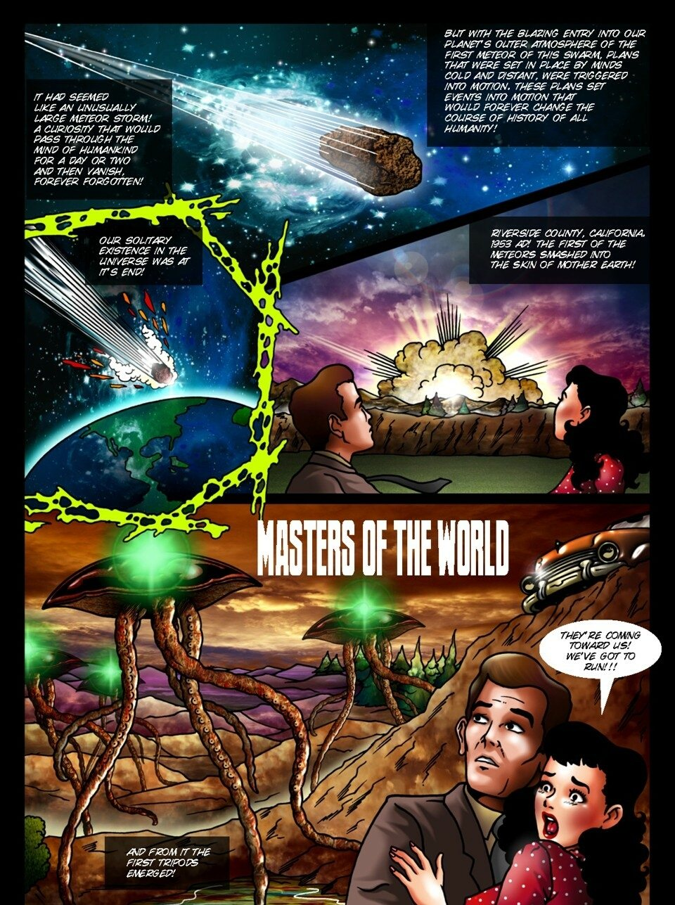 Porn Comics - Masters of the world- Monsterbabe Central porn comics 8 muses