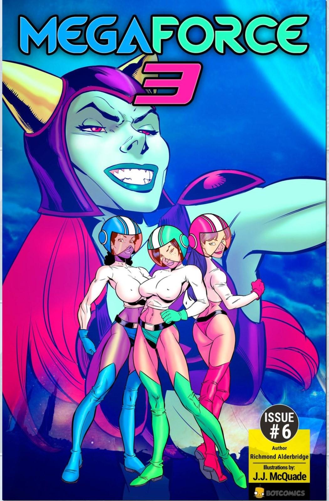 Porn Comics - Mega Force Three Issue 6- Bot porn comics 8 muses