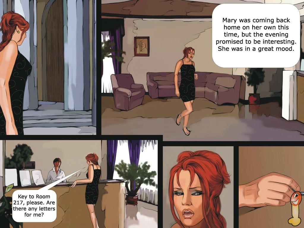 Porn Comics - Messy -Double dick porn comics 8 muses
