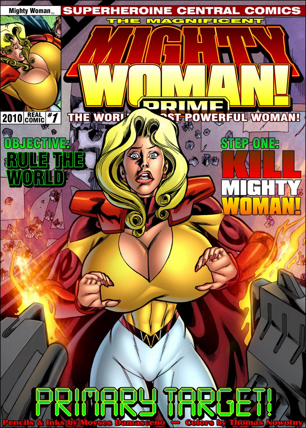 Porn Comics - Mighty Woman Prime in Primary Target- Superheroine Central porn comics 8 muses