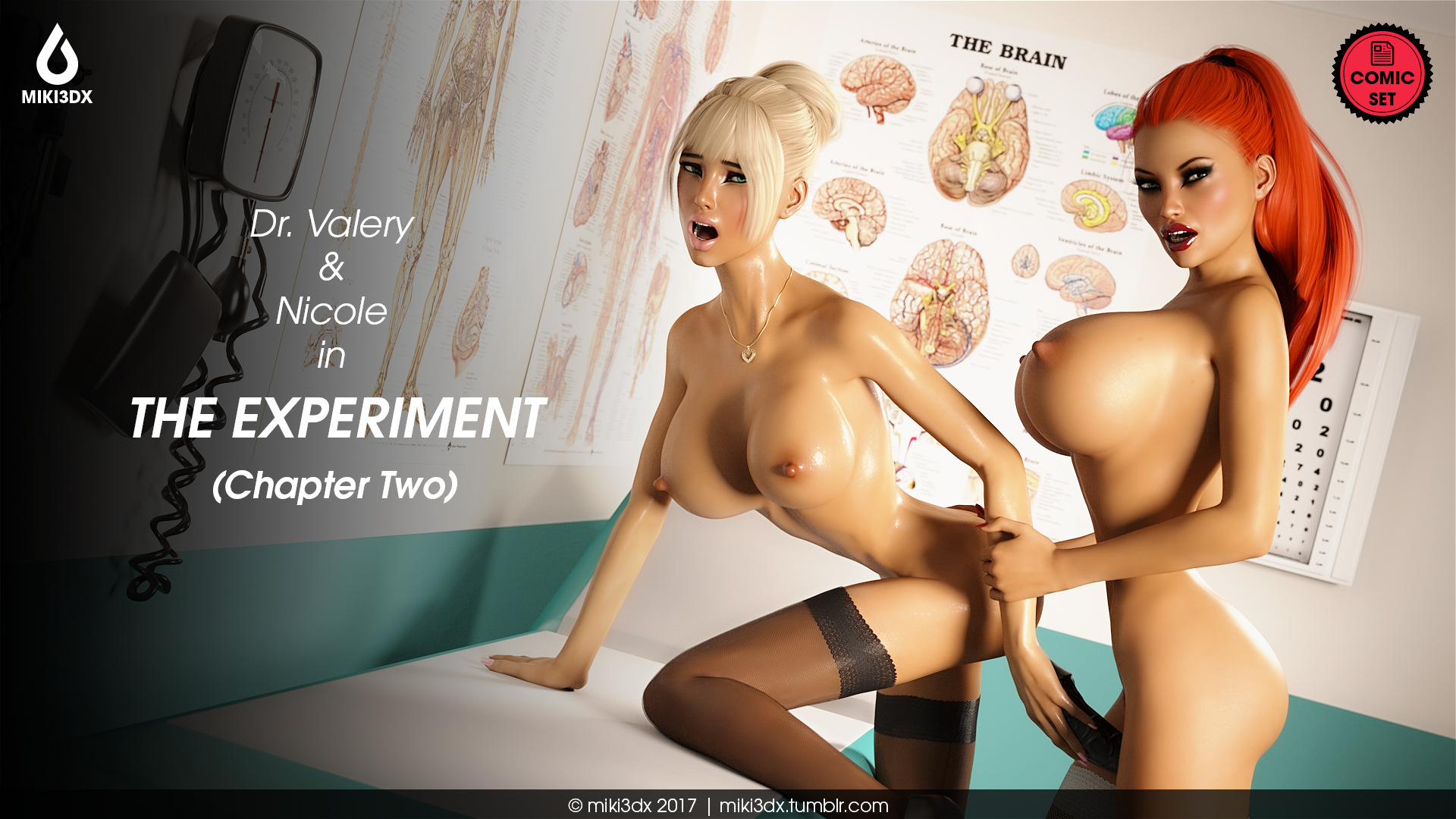 Porn Comics - Miki3DX – The Experiment Chapter Two porn comics 8 muses