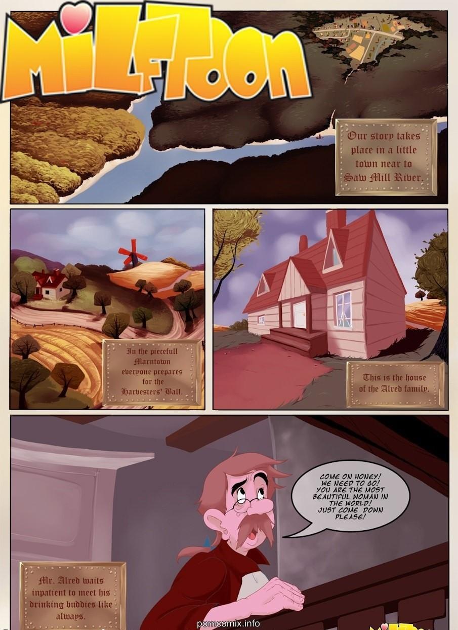 Porn Comics - Milftoon- Barn porn comics 8 muses