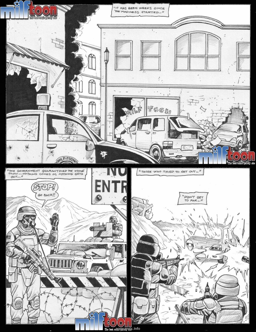 Porn Comics - Milftoon- Contains Virus Zombies porn comics 8 muses