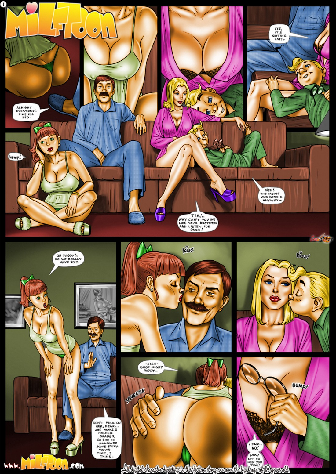 Porn Comics - Milftoon- Inpornius [Color] porn comics 8 muses
