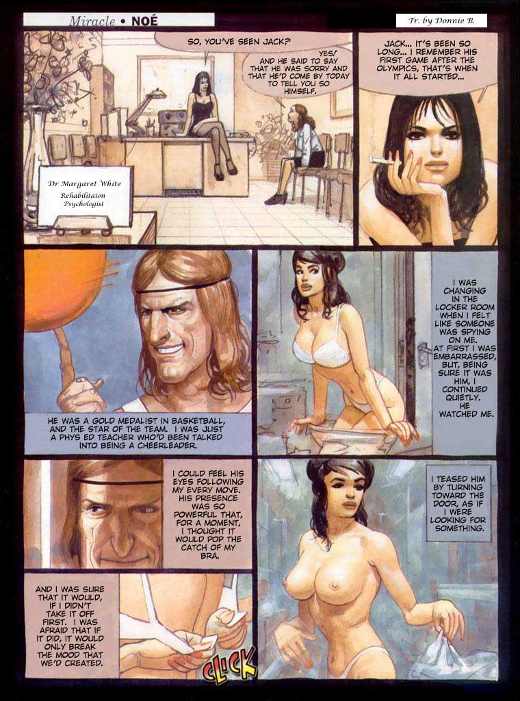 Porn Comics - Ignacio Noe- Miracle porn comics 8 muses