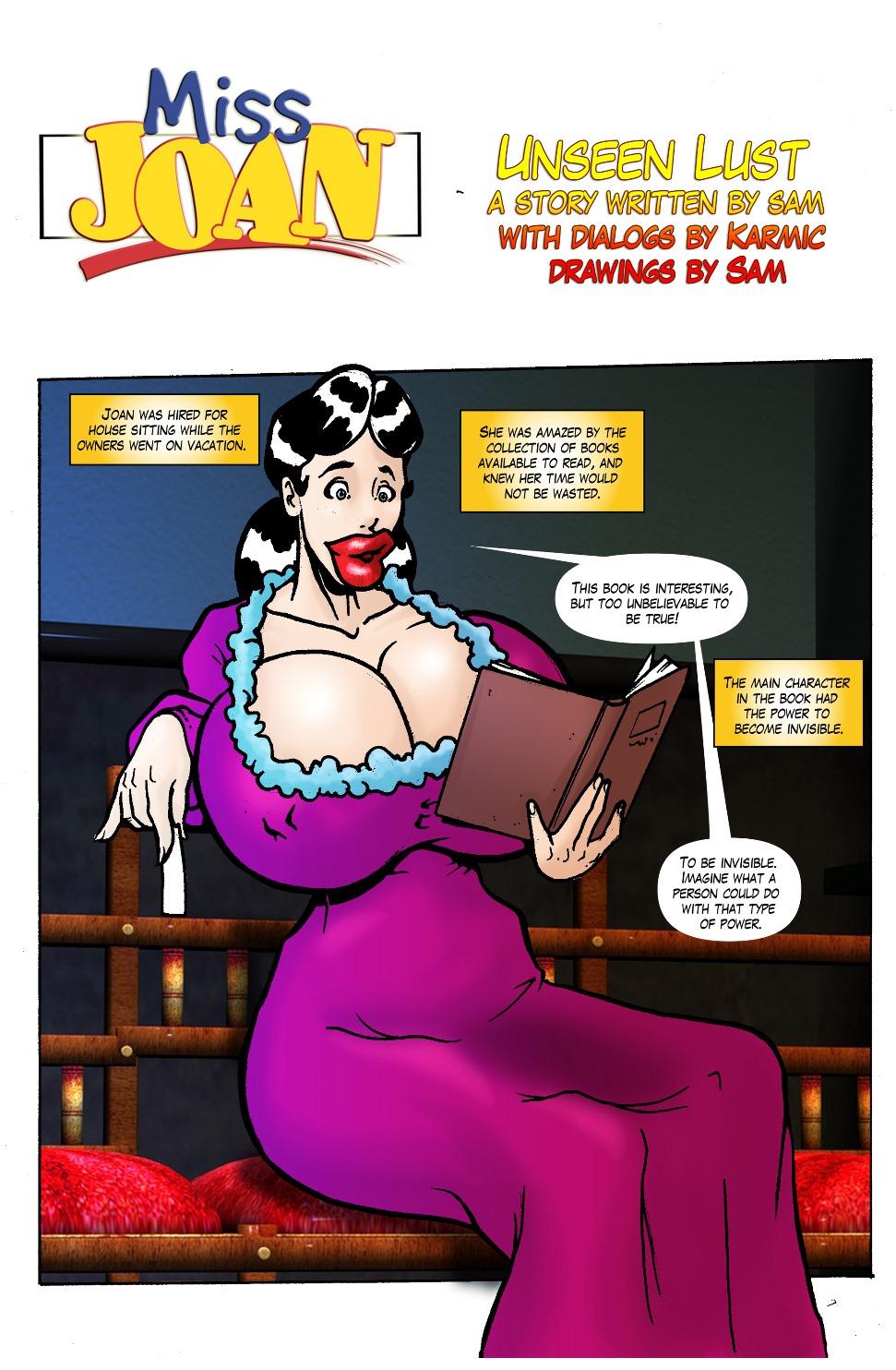 Miss Joan- Unseen Lust image 1