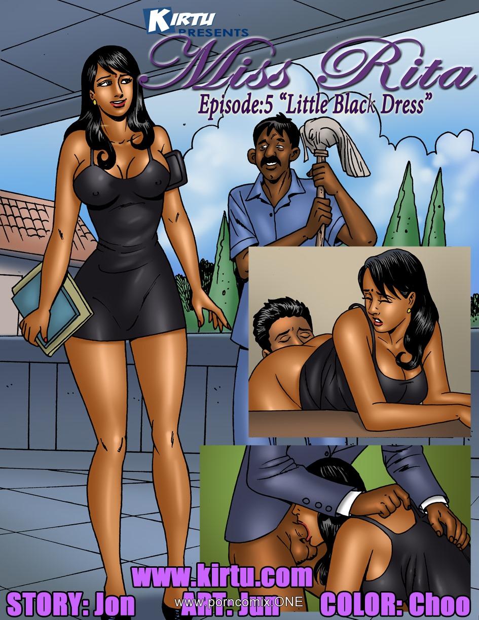 Porn Comics - Miss Rita Episode 5- Little Black Dress porn comics 8 muses