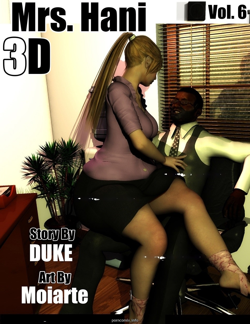 Mrs.Hani 3D Vol 6- Duke Honey image 01