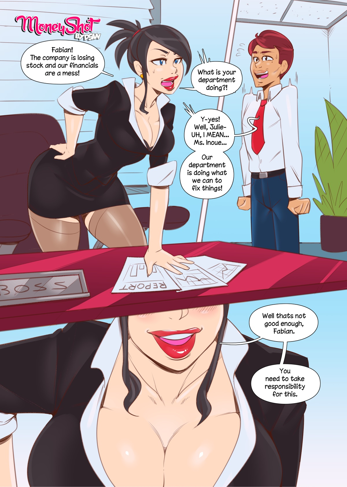 Porn Comics - Moneyshot by Dsan porn comics 8 muses