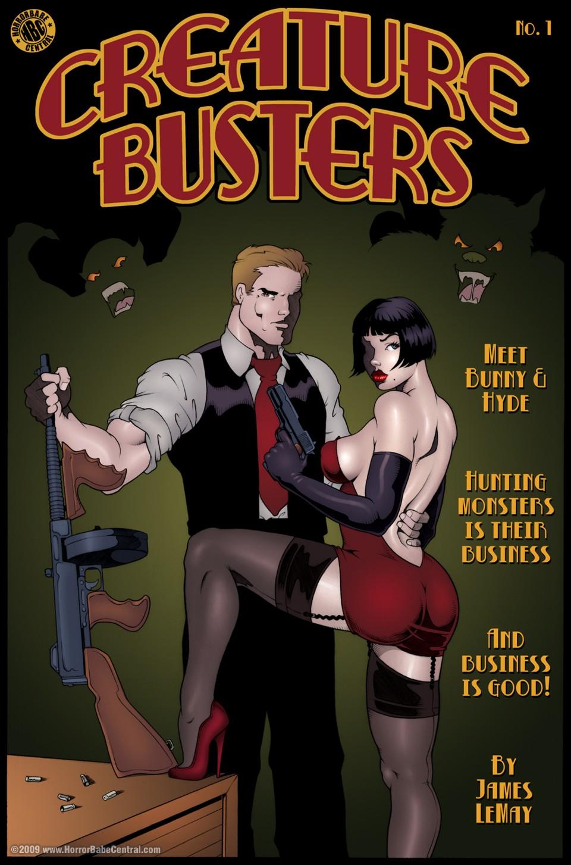 Porn Comics - Creature Buster- James Lemay porn comics 8 muses