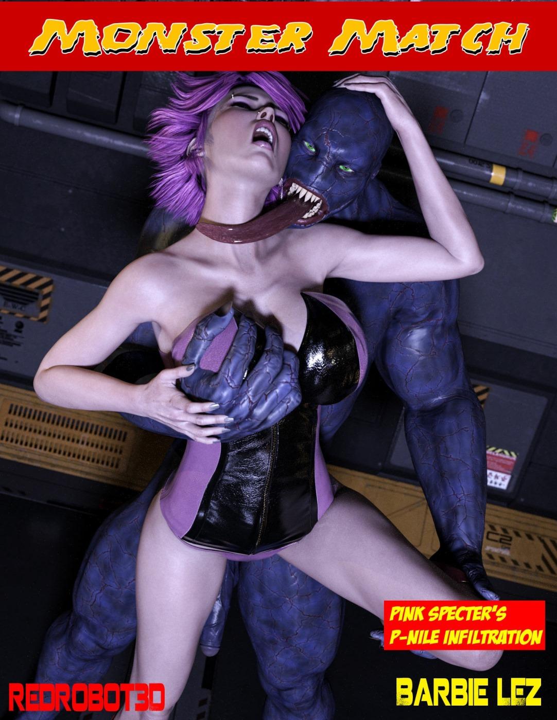 Monster Match- Redrobot3D image 1