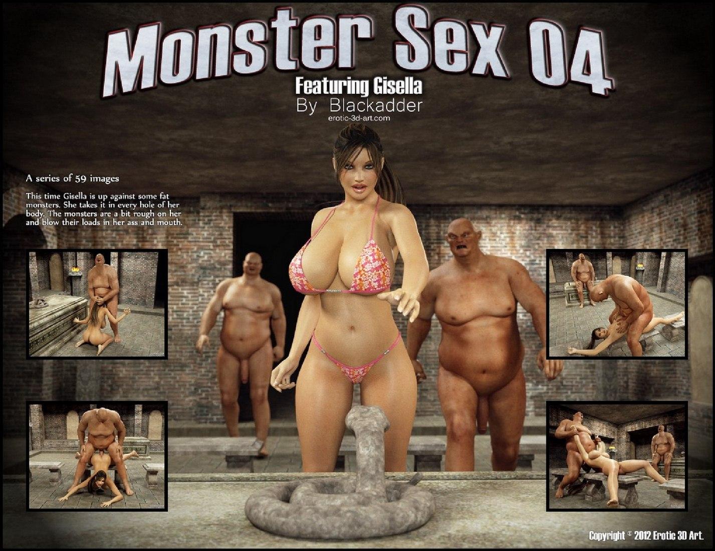Porn Comics - Blackadder Monster Sex 04 porn comics 8 muses
