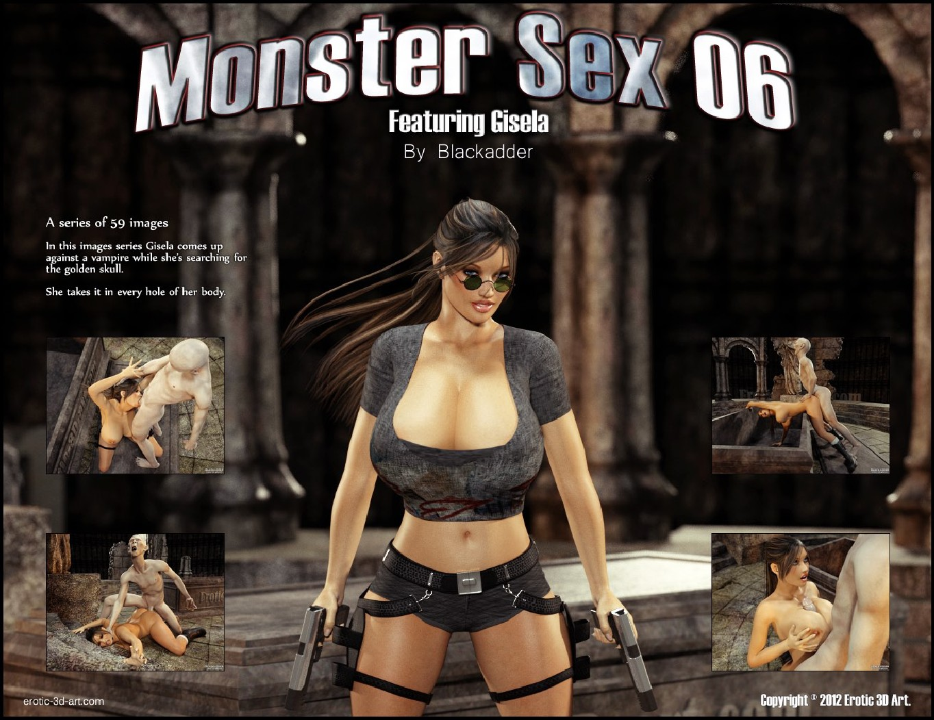 Porn Comics - Blackadder- Monster Sex 06 porn comics 8 muses