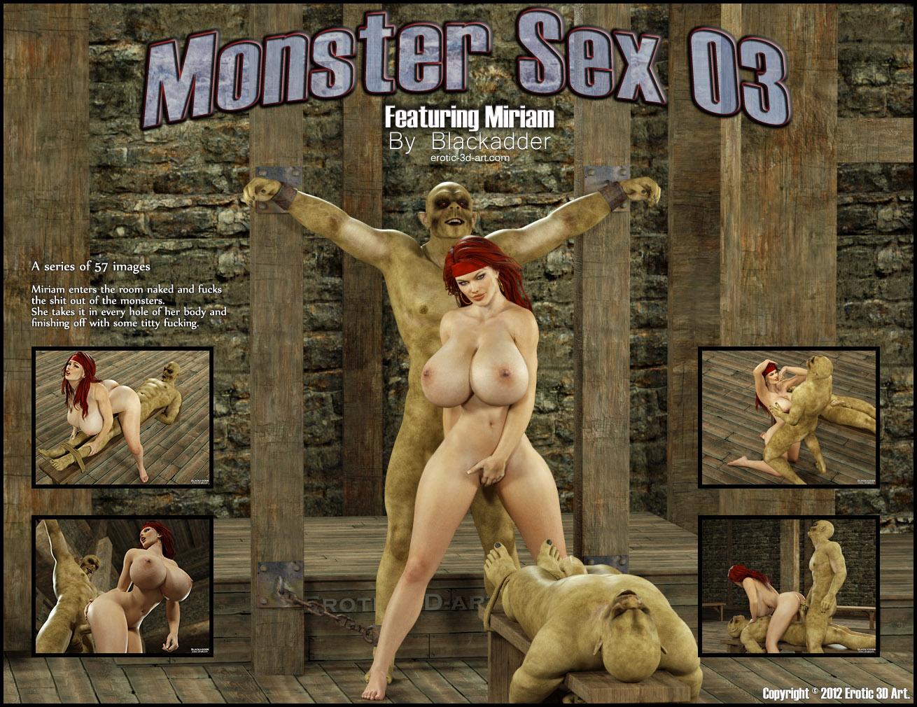 Porn Comics - Blackadder- Monster Sex 03 porn comics 8 muses
