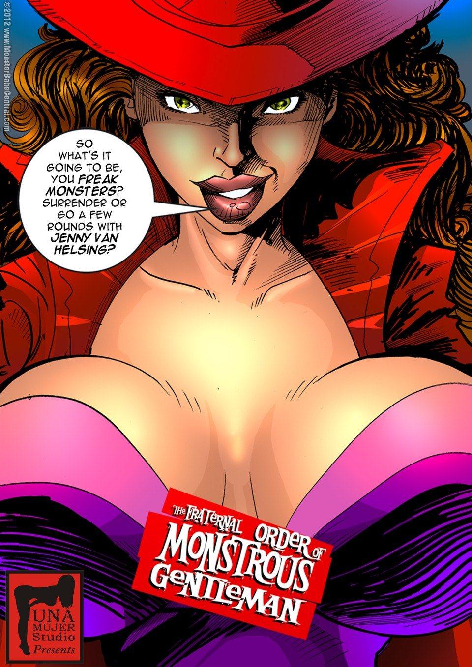 Porn Comics - Monstrous Gentlemen 7 porn comics 8 muses