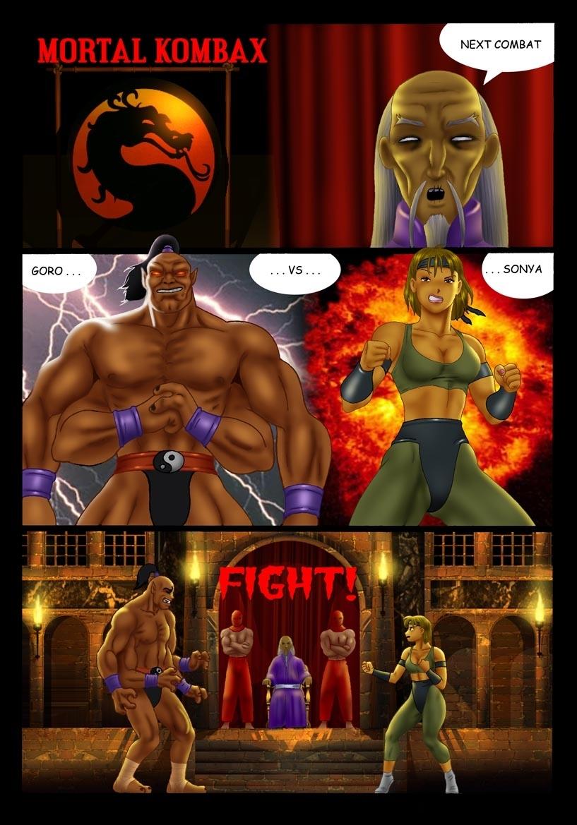 Porn Comics - Mortal Kombax porn comics 8 muses
