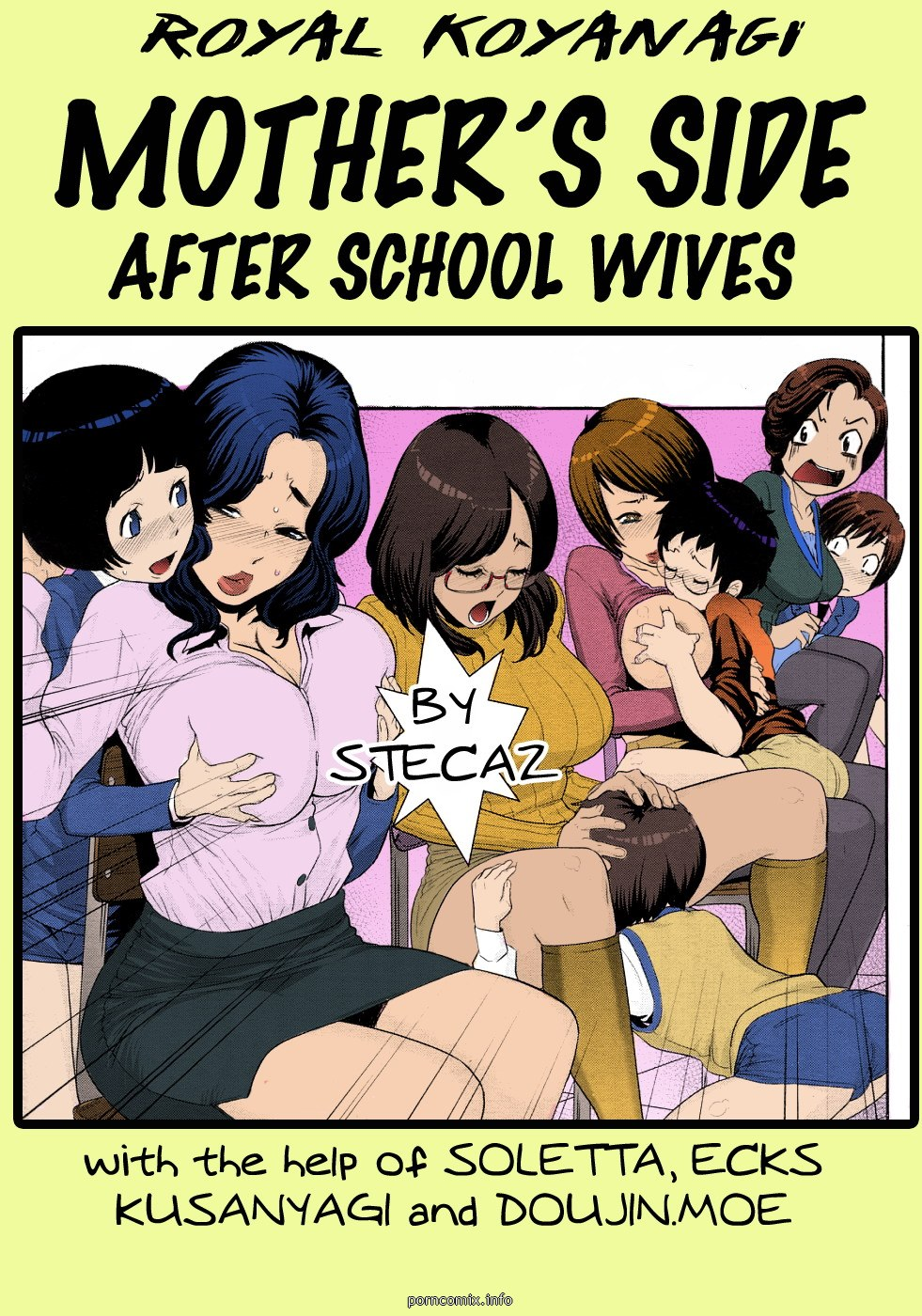 Porn Comics - Mother's Side-After School Wives porn comics 8 muses