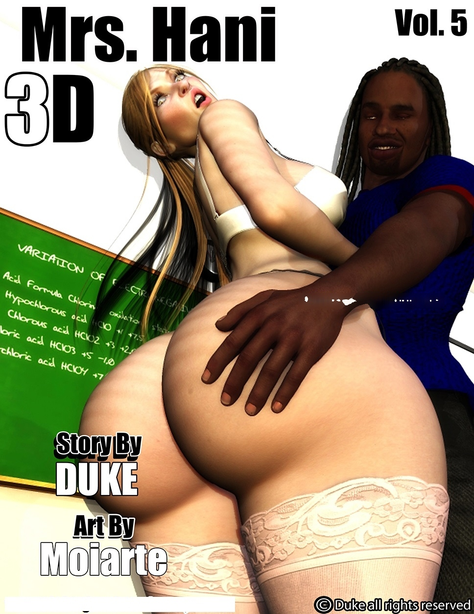 Mrs.Hani 3D Vol 5- Duke Honey image 01