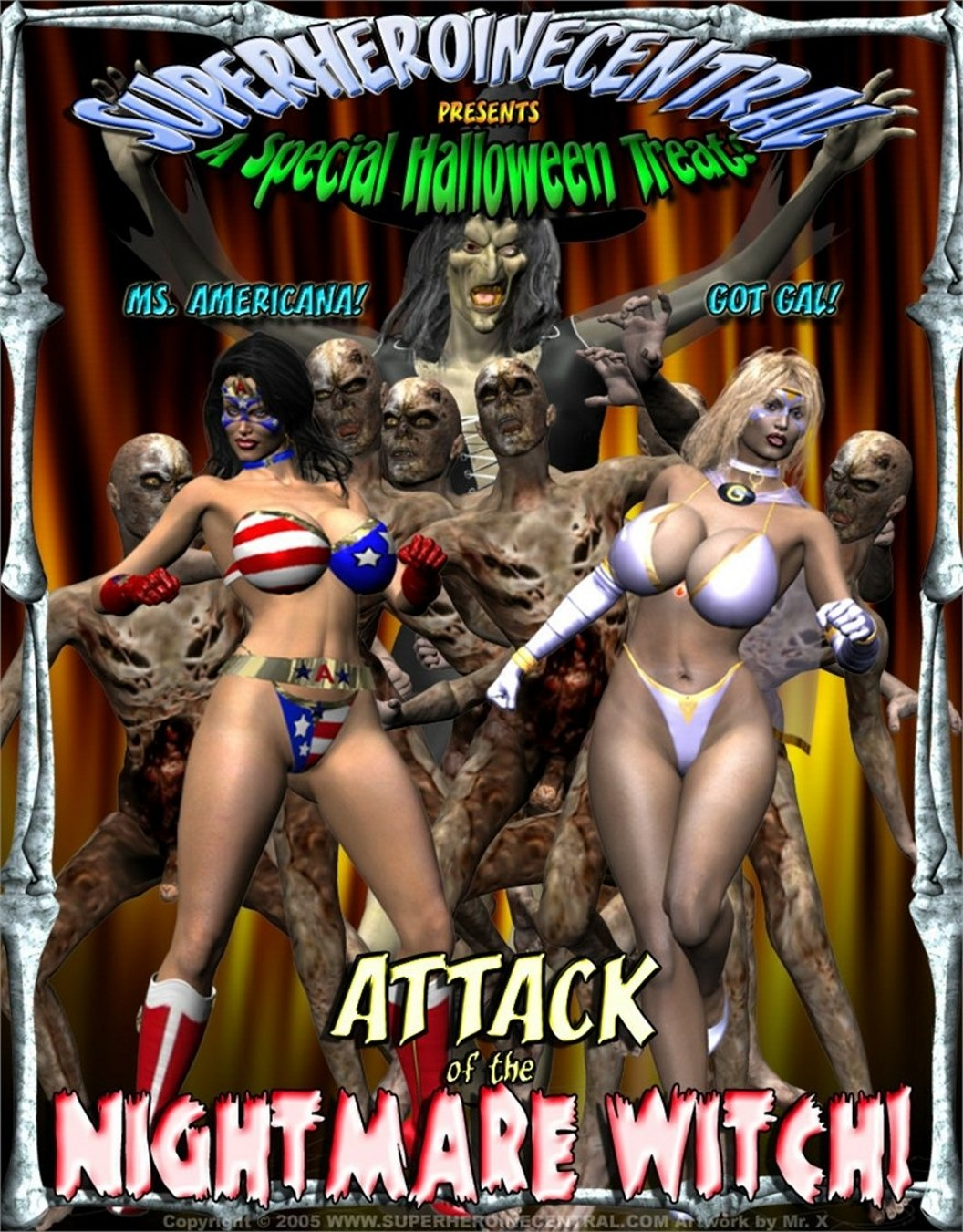 Ms Americana and Got Gal- Nightmare Witch image 1