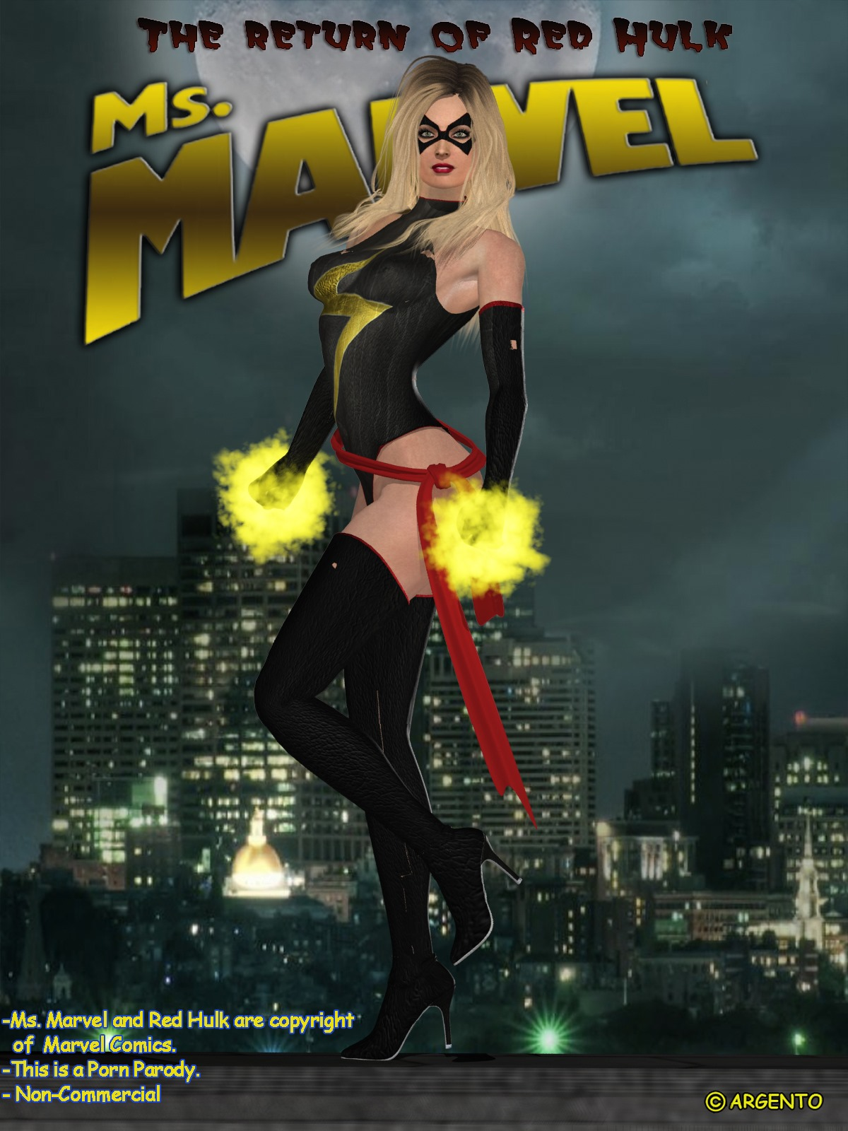 Ms. Marvel -The Return of Red Hulk image 1