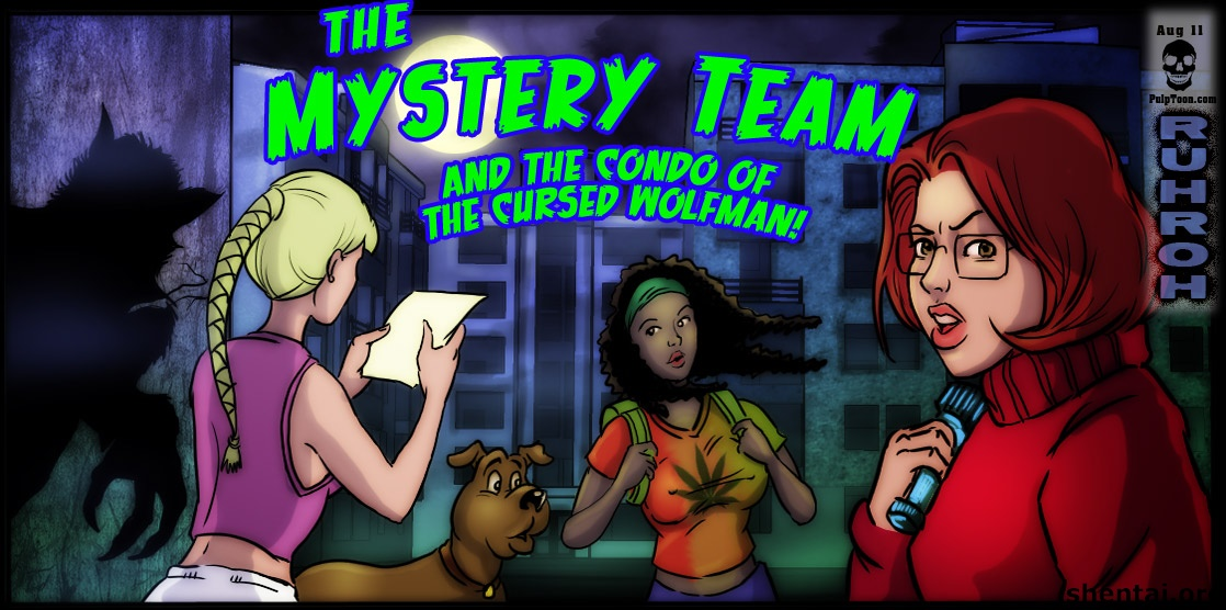 The Mystery Team and the Condo of the Cursed Wolfman image 01