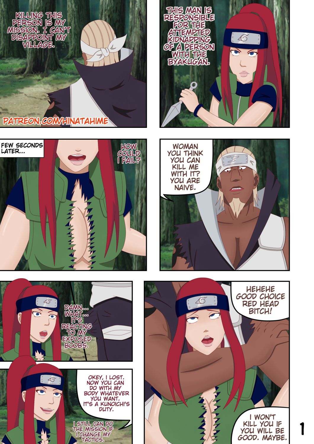 Porn Comics - Naruto- Pleasure of Failure porn comics 8 muses