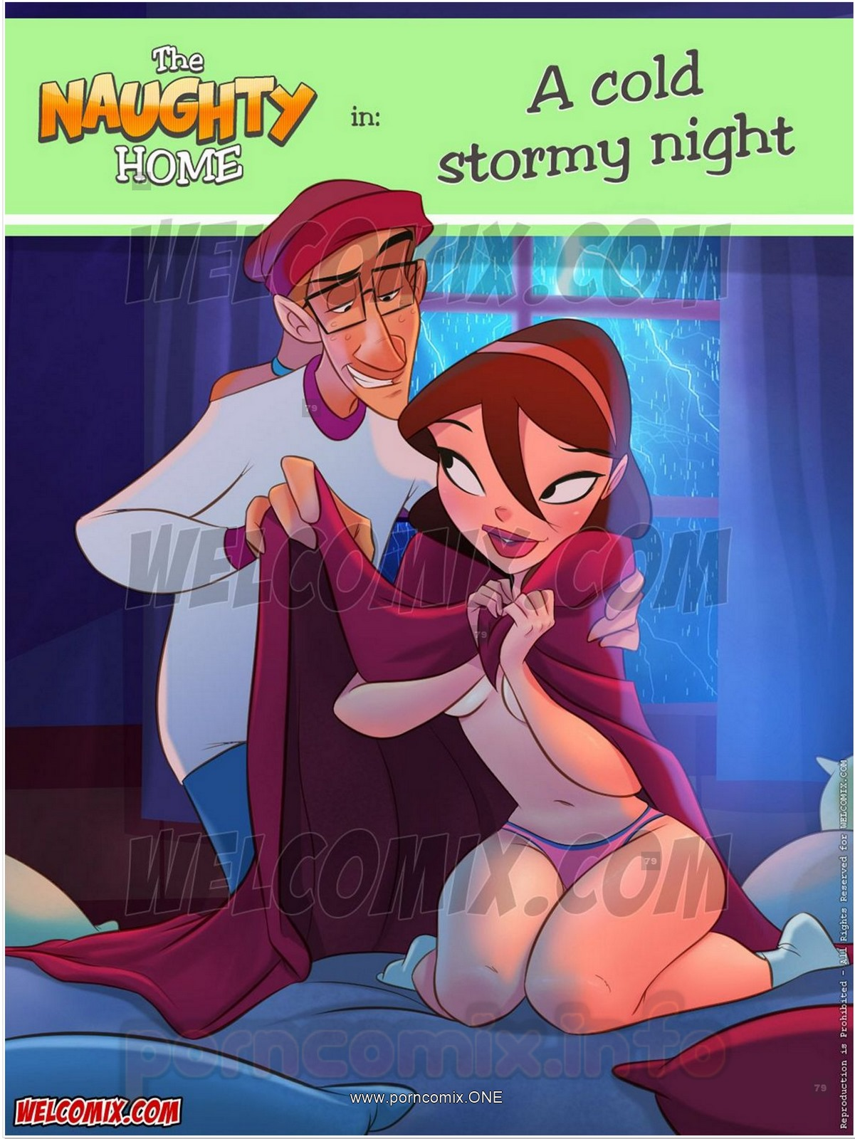 Porn Comics - Naughty Home 21- Cold Stormy Night- Welcomix porn comics 8 muses