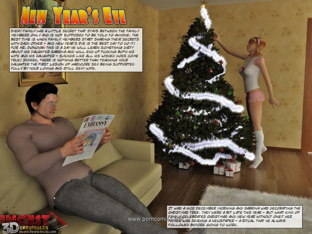 Porn Comics - New Year's Eve – Incest3dChronicles porn comics 8 muses
