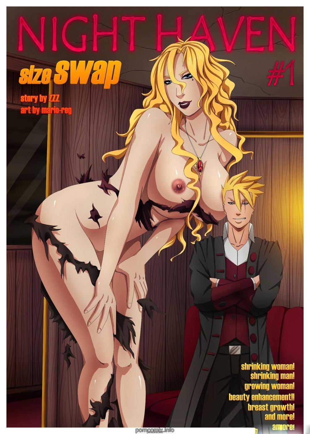 Porn Comics - Night Haven Size Swap porn comics 8 muses