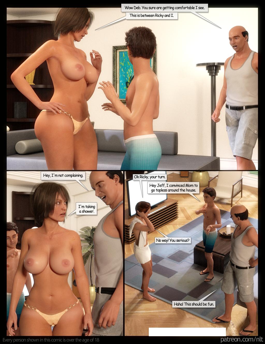 Porn Comics - NLT- Family Vacation porn comics 8 muses