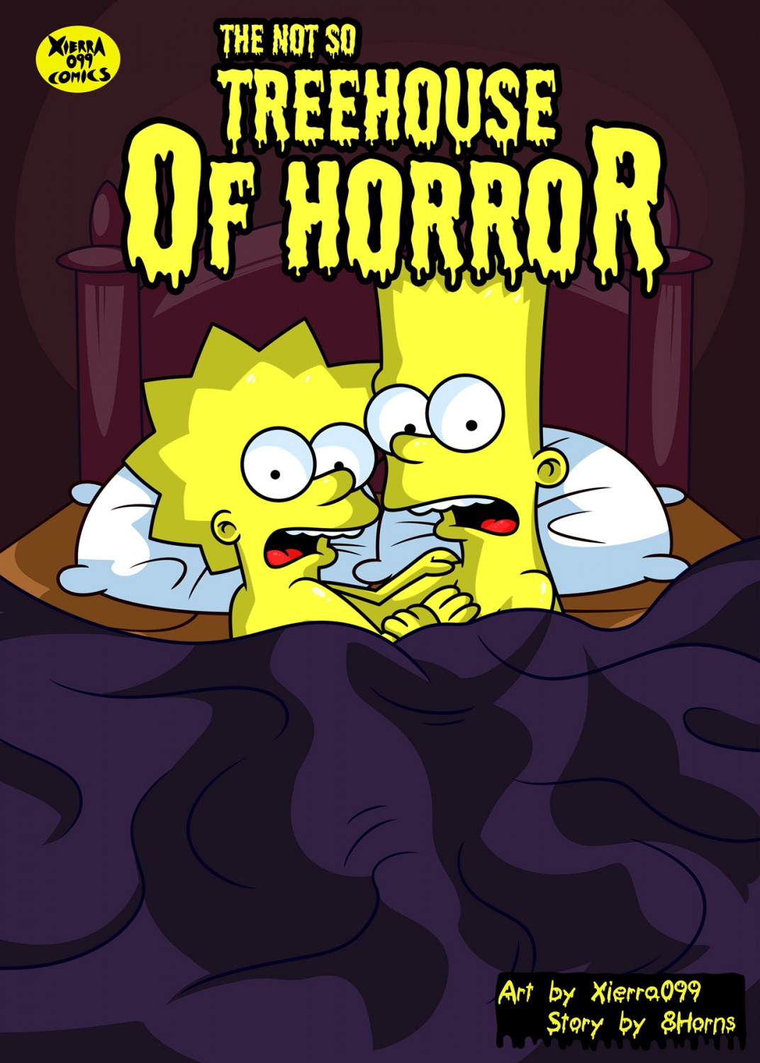 Porn Comics - Not so Treehouse of Horror- The Simpsons porn comics 8 muses