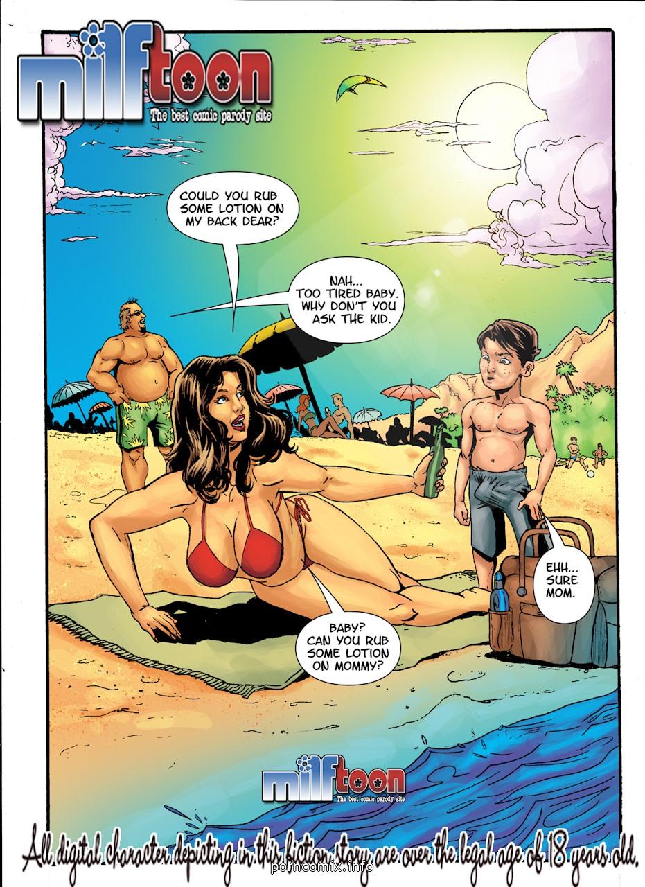 Porn Comics - Obsession Beach porn comics 8 muses