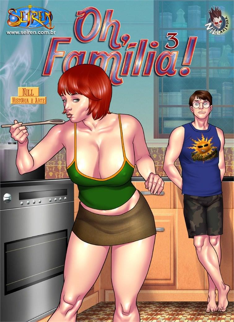 Porn Comics - Oh Familia ! 3 English (Siren) Nill porn comics 8 muses