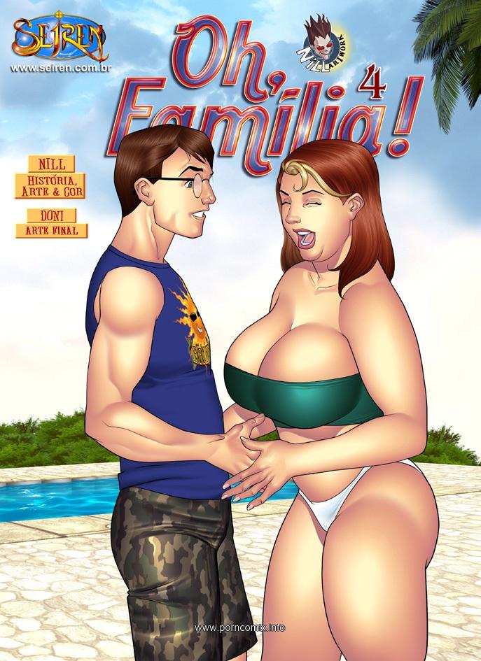 Porn Comics - Oh Familia ! 4 English- Seiren porn comics 8 muses