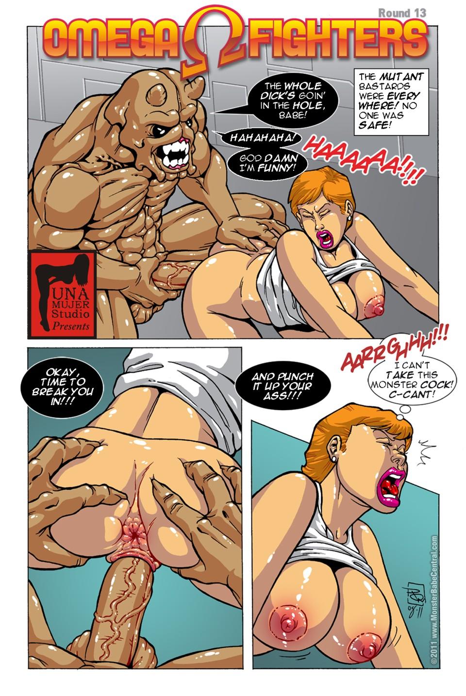 Porn Comics - Omega Fighters 13-14 porn comics 8 muses