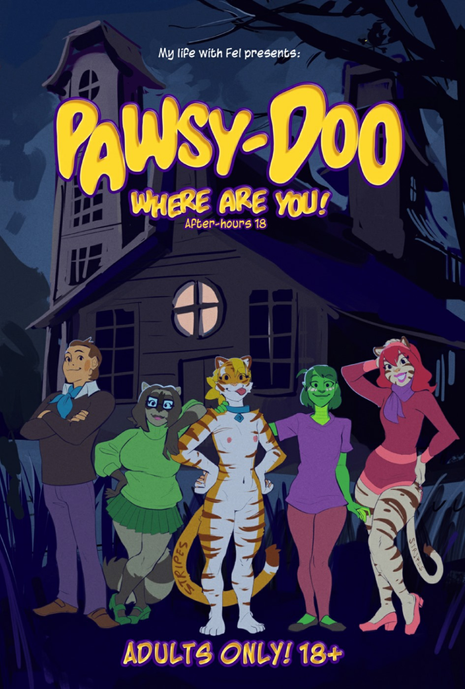 Pawsy-Doo Where are you!- Scooby Doo image 1