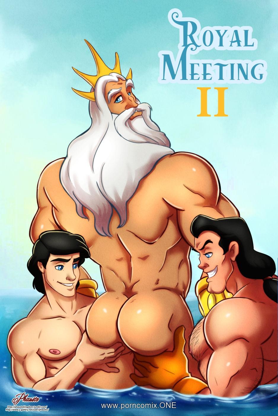 Porn Comics - Royal Meeting 2 porn comics 8 muses