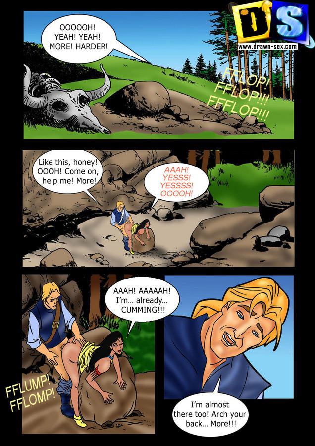 Porn Comics - Pocahontas – Traitor porn comics 8 muses