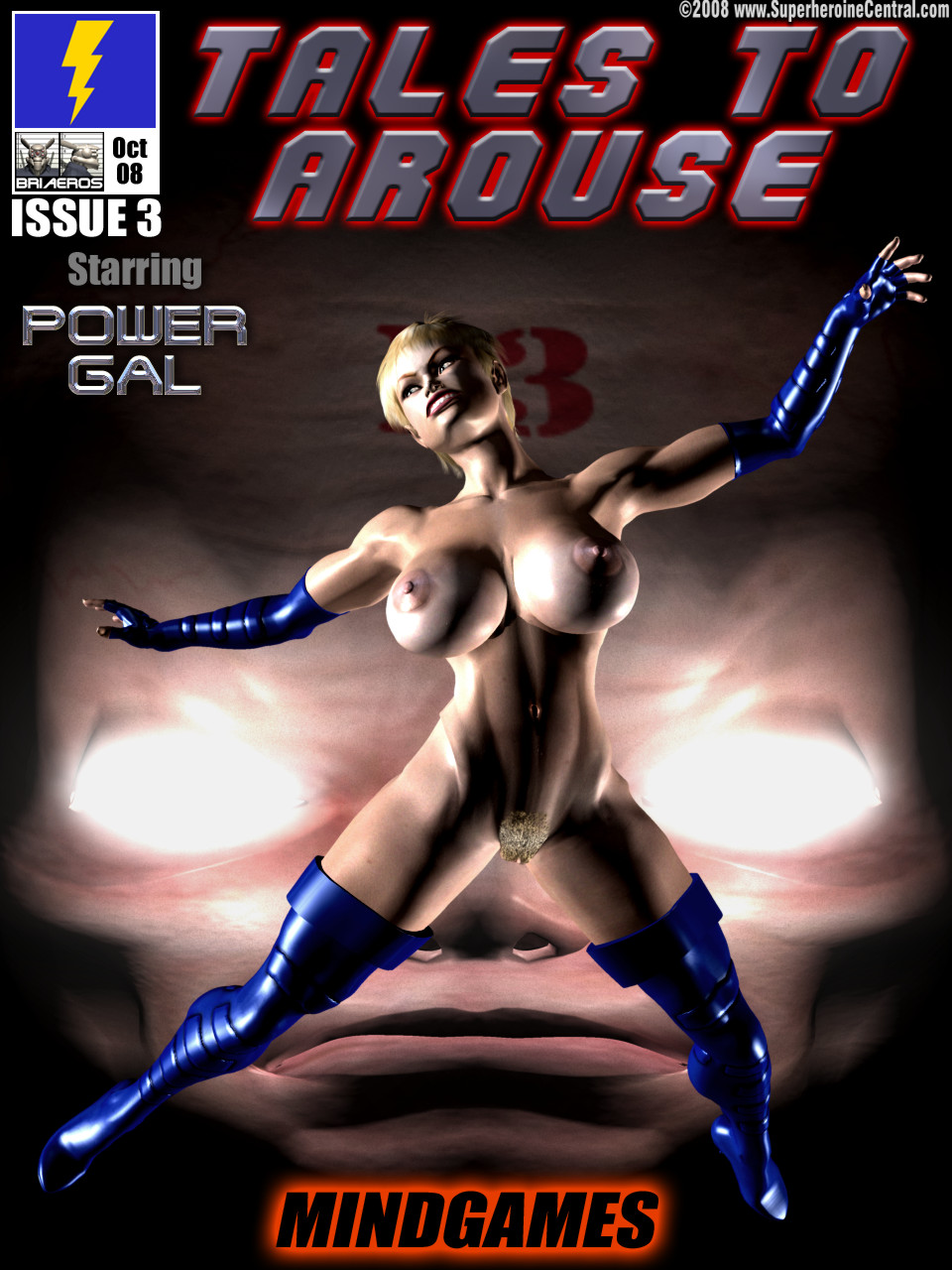 Power Gal in Mind Games # 3-3D Superheroine Central image 01