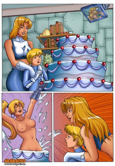 Porn Comics - Power Pack- Fantastic Birthday Party porn comics 8 muses