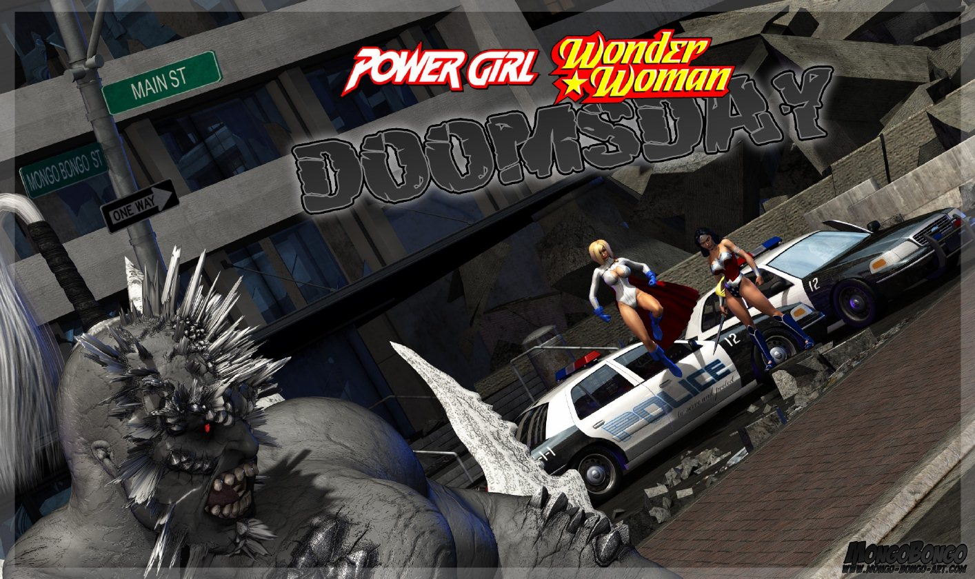 Porn Comics - Power Girl-Wonder Woman Doomsday – Mongo Bongo porn comics 8 muses