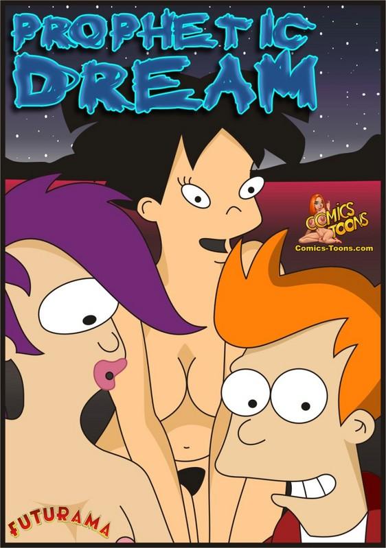 Prophetic Dream – Futurama image 01