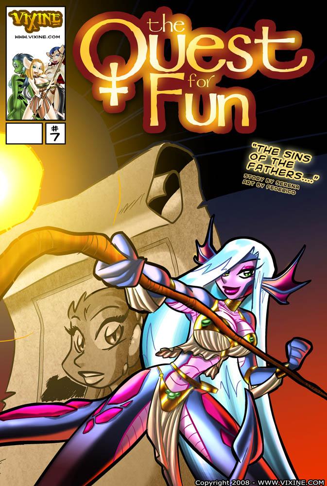 Porn Comics - Quest for fun 11 porn comics 8 muses