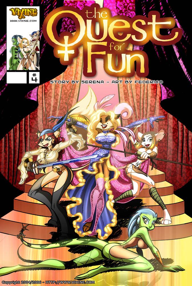Porn Comics - Quest For Fun 4 Federico porn comics 8 muses
